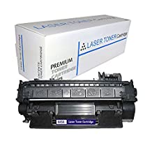 Proosh Compatible Toner Cartridge for HP CE505X, Black, 05X Non OEM; for use in Compatible Printers: HP Laserjet P2055d / HP Laserjet P2055dn / HP Laserjet P2055x