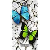 Sony Xperia C Back Cover - Two Flies Designer Cases [Printed Designer]