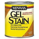 Minwax 260304444 Interior Wood Gel Stain, 1/2 pint,  Antique Maple