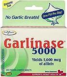Enzymatic Therapy – Garlinase 5000 – 100 Tablets Formerly Garlinase 4000 or Garlinase Fresh Review