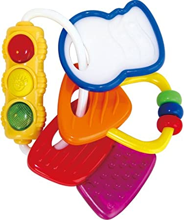 Amazon Com Baby Einstein Activity Keys Baby Touch And Feel Toys