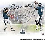 #10: Nick Foles & Trey Burton Philadelphia Eagles Dual-Signed 16