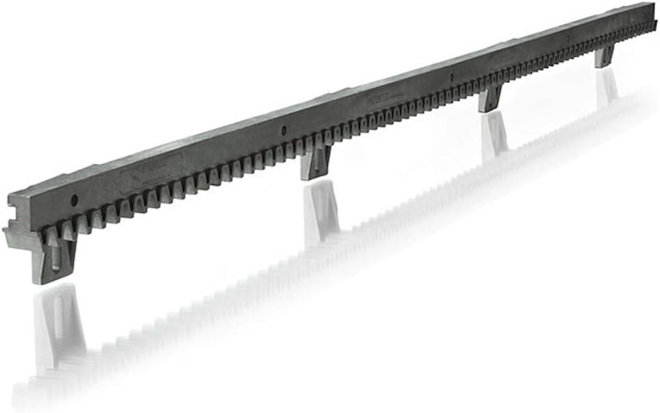 Somfy 2401294 - Metro de cremallera (1 x 1 metro) bajo para puerta corredera | Compatible con motores Freevia, Slidymoove y LS: Amazon.es: Bricolaje y herramientas