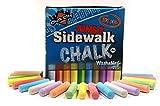 Chalk City - 100 Piece Jumbo Washable Sidewalk Chalk