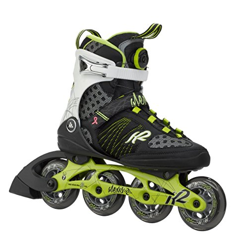 K2 Damen Inlineskates Alexis 84 Speed Boa black (85)