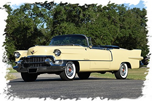 1955 Cadillac Eldorado Convertible Mouse Pad mousepad Classic Vintage Old Cars Hot Rods Speed Computer Dessktop Supplies