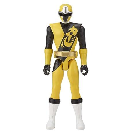 Power Rangers Ninja Steel - Figura Ninja Steel Amarillo (Bandai 43623)