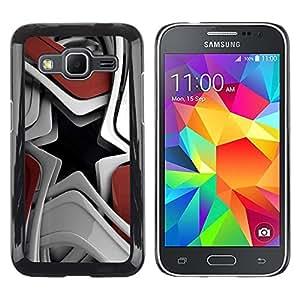Smartphone Rígido Protección única Imagen Carcasa Funda Tapa Skin Case Para Samsung Galaxy Core Prime SM-G360 Abstract Star Shape / STRONG