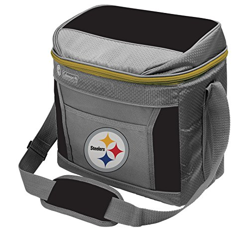 (Rawlings Coleman NFL Soft-Sided Insulated Cooler Bag, 16-Can Capacity, Pittsburgh Steelers)