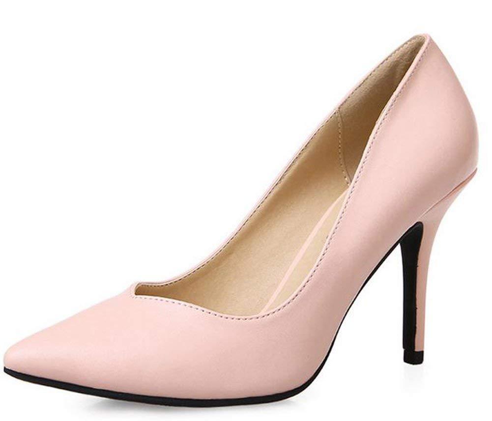 Fuxitoggo Frau Die Einzige Schuhe,Rosa,40 (Farbe   Wie Gezeigt Größe   Einheitsgröße)
