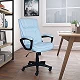 Serta CHR200118 Style Hannah Office Chair Microfiber, Comfort Blue