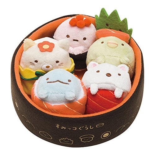 Sumikko Gurashi Plush Sushi Toy(Japan Imported) SAN-X MR24001
