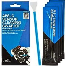 VSGO Professional Camera Sensor Cleaning Kit APS-C DSLR Sensor Cleaning Swabs For SLR Digital Cameras Cleaning - 10 Pieces