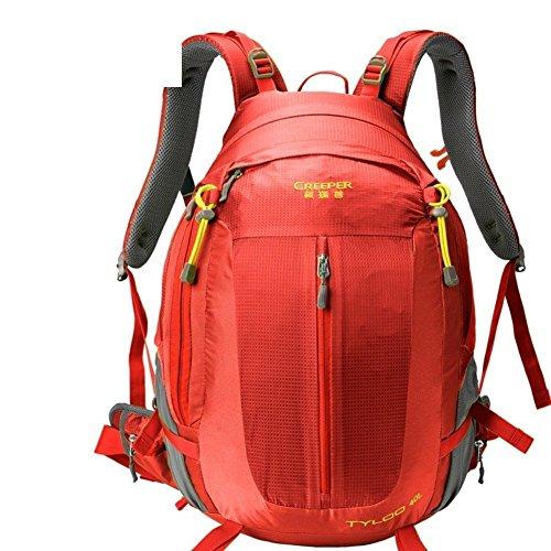 Sincere® Verpackung / Rucksäcke / Mobil / Ultralight Mode Sportrucksack / Bergbeutel / im Freien Reiserucksack / Tornister Suspension atmungsaktiv / wasserabweisenden-rot 40L