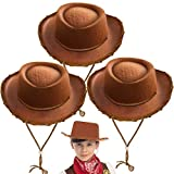 Spooktacular Creations Children's Brown Felt Cowboy