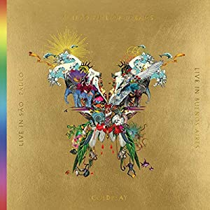 The Butterfly Package [Live In Buenos Aires/Live In São Paulo/A Head Full Of Dreams (Film)] (3LP 180-Gram Gold Vinyl + 2DVD)