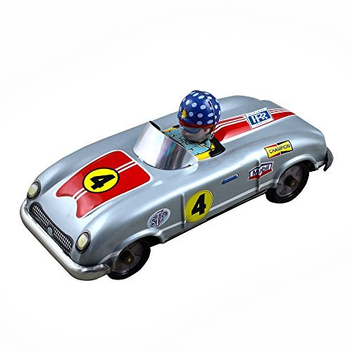 RoyaltyRoute Champion Car Auto Tourer Tin Toys Collectibles Vintage Collectibles by RoyaltyRoute by RoyaltyRoute