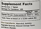 Zahler VITAMIN D3 CHEWABLE 2000IU, An All-Natural Supplement Targeting Vitamin D Deficiencies, Certified Kosher, 120 Great Tasting Orange flavored Tablets - 51xK WPdizL - Zahler VITAMIN D3 CHEWABLE 2000IU, An All-Natural Supplement Targeting Vitamin D Deficiencies, Certified Kosher, 120 Great Tasting Orange flavored Tablets