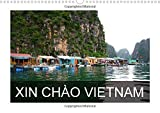 XIN CHAO VIETNAM 2015: The calendar ''XIN CHAO VIETNAM'' shows cultural and daily life scenes of this fascinating and beautiful country. (Calvendo Places)