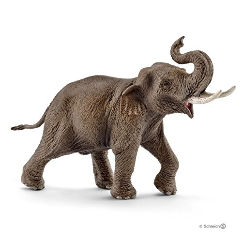 Female Elephant - Schleich North America Male Asian Elephant Toy