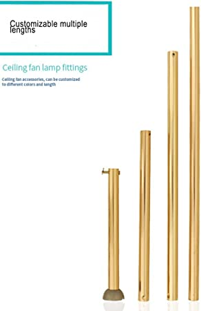 36-48 inch RainierLight Ceiling Fan Downrod//1-Inch Diameter