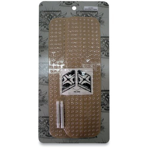 Stompgrip Traction Pads All Purpose 4-1/4 Inch X 15-1/5 Inch Clear Universal by Stomp Design