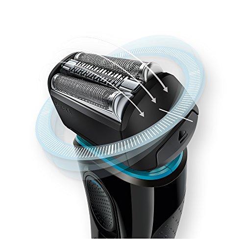 Braun Series 5 5040S Men's Electric Razor/Electric Foil Shaver, Wet & Dry, Cordless & Rechargeable, Pop Up Precision Trimmer