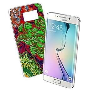 Paisley Art - Samsung Galaxy S6 Edge Clear Cover Case