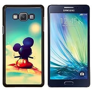 TECHCASE---Cubierta de la caja de protección para la piel dura ** Samsung Galaxy A7 ( A7000 ) ** --Mickey Fly