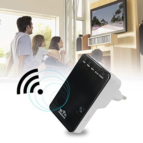 (Kytree 300Mbps Wireless-N Mini Router WiFi Repeater Extender Booster Amplifier)