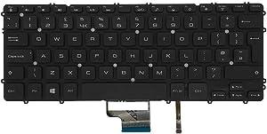 GAOCHENG Laptop Keyboard for DELL XPS 15 9530 Precision M3800 P31F 03H5CJ 3H5CJ United Kingdom UK Black with Backlit New