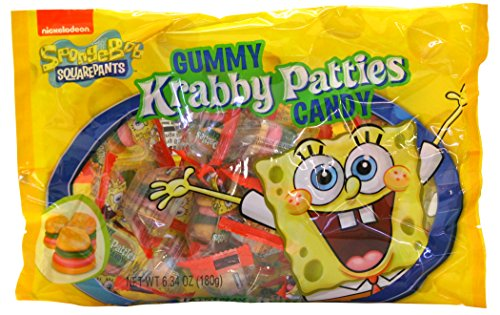Frankford Candy Company Krabby Patties Mix, Gummy, 6.34 Ounce (Pack of 24)