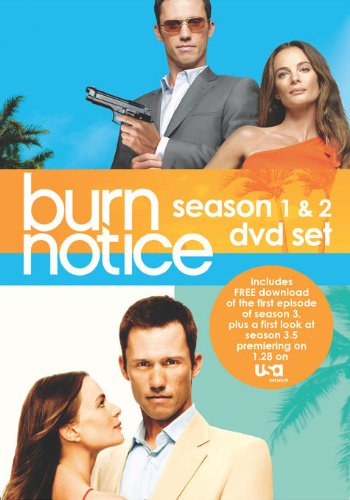 Burn Notice: Season 1 & 2 Set -  DVD, Jeffrey Donovan