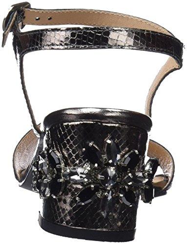 Scarpe Black Gioseppo col 44947 Aperta Nero Tacco Donna Punta 84B54qaU