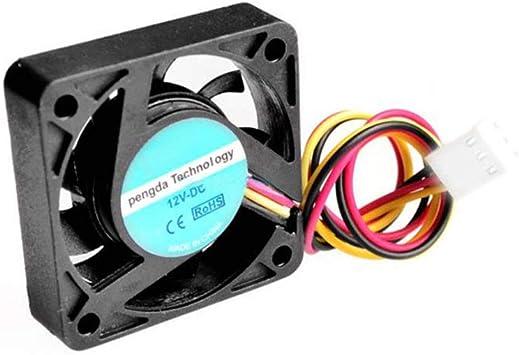 10 Unidades por Lote 3 Pines 40 mm CPU Cooler Ventilador de ...