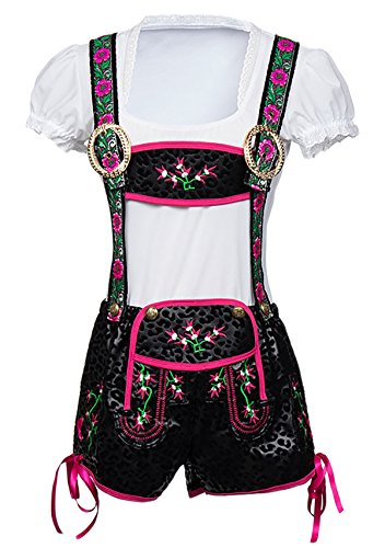 Alivila.Y Fashion German Bavarian Beer Oktoberfest Costume Women Lederhosen -