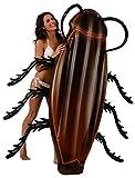 Kangaroo's Gigantic Cockroach Raft; 6' Pool Float for Kids