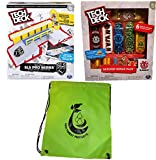 Spin Master Tech Deck Bundle SLS Pro Series Skate Park Table with Rail,Sk8shop Bonus Pack (style may vary) and Bag