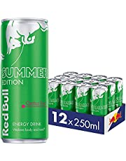 Red Bull Dragon Fruit Energy Drink, Summer Edition, 250 ml, Pack of 12