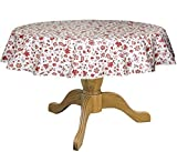 Stain Resistant Round 42 to 60'' Bistro Tablecloth