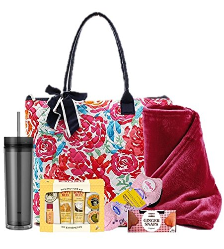 Driving Miss Daisy Get Well Gift for Women - Quilted - Surgery Gift Basket