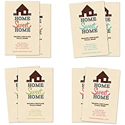 Home Sweet Home Personalized Moving Announcement