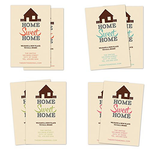 Personalized Moving Announcement - Home Sweet Home Personalized Moving Announcement