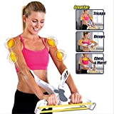 ZOMAKE Arm Exercise Equipment,Arm Workout Machine with 3 Arm Resistance Bands (Udgrade)