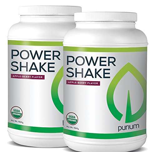 Purium 2 Pack Power Shake - Apple Berry Flavor (Shake Power)