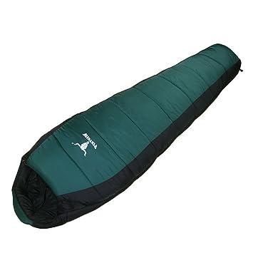 lixada camping Saco de dormir 3d fibra hueca doble capas erwachsen Saco de dormir estilo momia