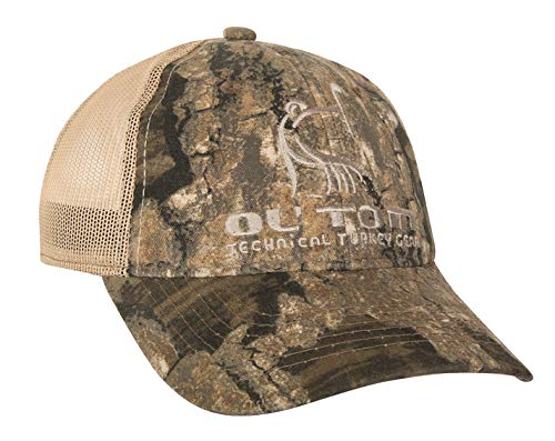 Ol' Tom Mesh Back Logo Cap Polyester Realtree Timber Camo