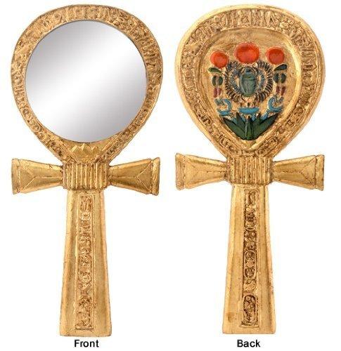 Ankh Egyptian Mirror - Ankh Egyptian Mirror Collectible Egypt God Religious Symbol Figure
