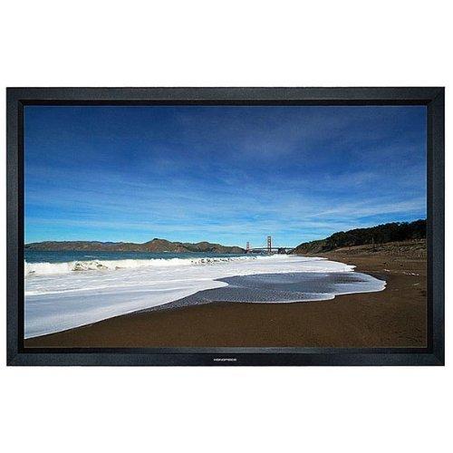 Monoprice Fixed Frame Projection Screen (8cm Aluminum Frame w/Velvet Wrapped) - HD White Fabric (106 inch 16:9) [並行輸入品] B075P73JTY