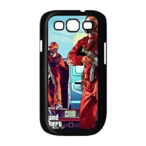 GTA V 5 Samsung Galaxy S3 9300 Cell Phone Case Black DIY Present pjz003_6488265